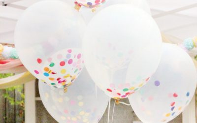 Color Filled Balloons