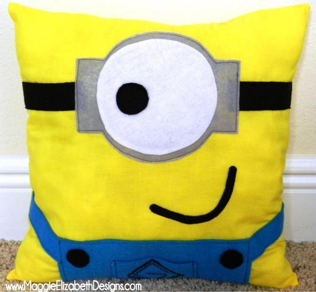 Minion Pillow Pattern