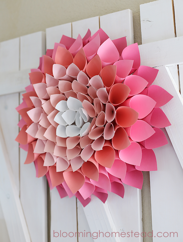 Gorgeous Paper Wreath