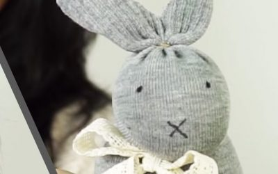 Sock Bunny For Easter